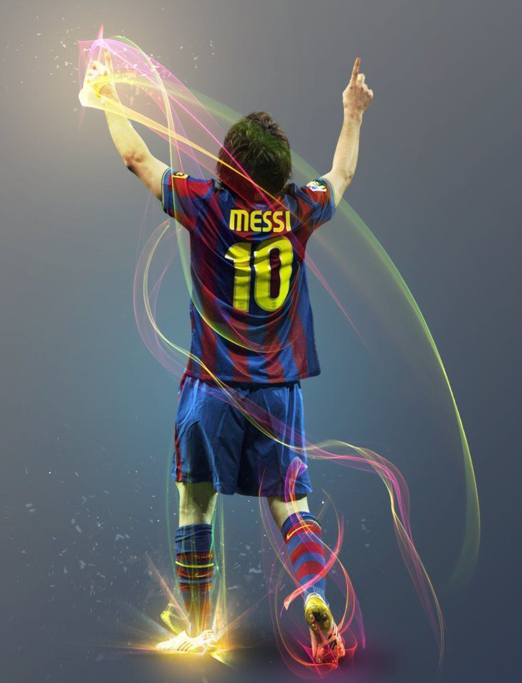 lionel messi photoshop travaillant par thendr d5u0jkn