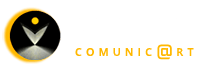 Logo of the art and communication project Alhma.com, Comunic @ rt