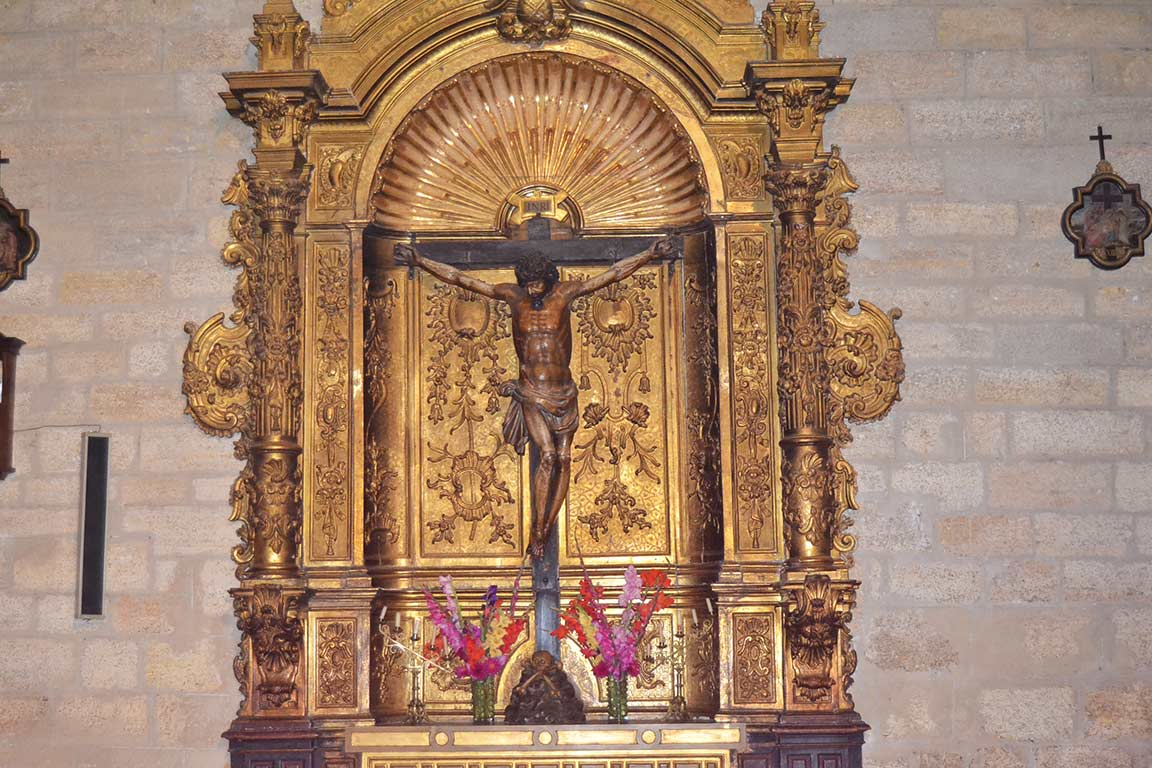 Detail Altarpiece of the Christ of Consuelo
