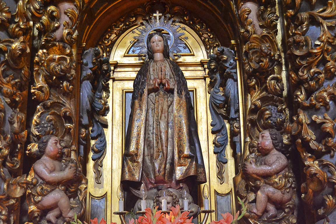 Detail Altarpiece of the Immaculate Conception