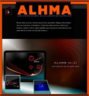 Summary Graph of the Logic of alhma.com. Alhma Project [H-2]